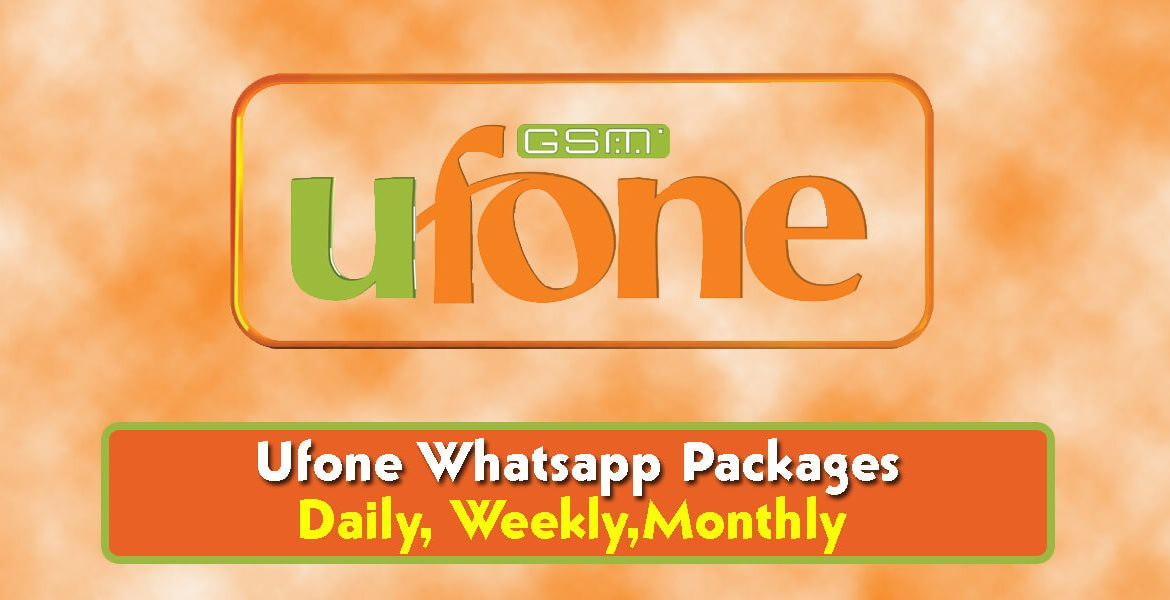 Ufone Whatsapp Packages,Free Trick Daily, Weekly And Monthly