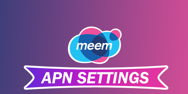 meem mobile apn settings