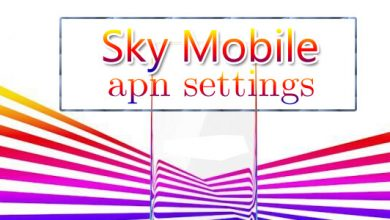sky mobile apn settings