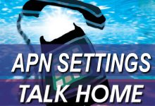 talk home apn settings