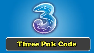 three puk code