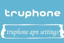 Truphone Mobile APN Settings