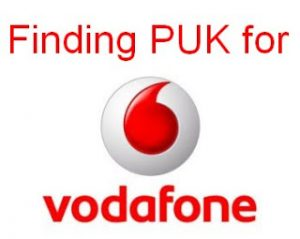Vodafone PUK Code How To Retrieve Complete Guide To Unlock Sim Card