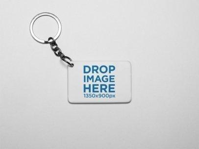 Free Keychain Mockup