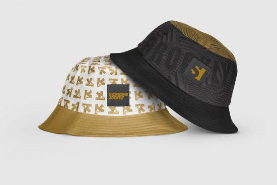 Free Mockup Bucket Hats