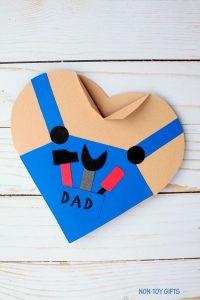 Handy Heart Dad Card