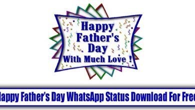 Happy Father's Day WhatsApp Status Download For Free-1