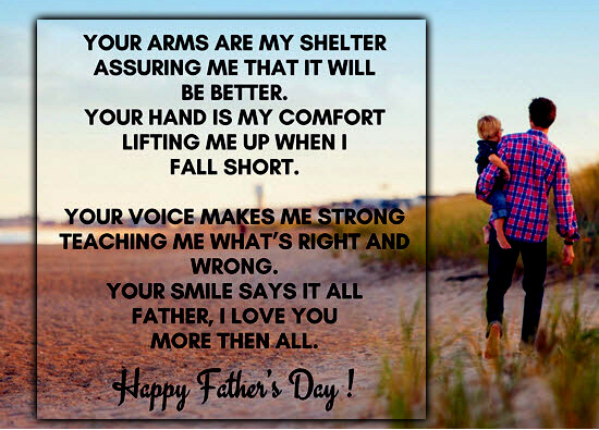 Happy Fathers Wallpaper Poetry-3
