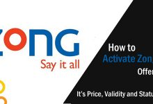 How to Activate Zong 777 Offer 2019, It's Price, Validity and Status Code