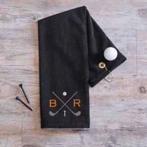 Monogrammed Golf Towel