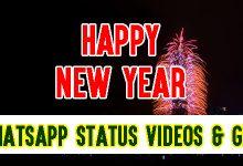 Happy New Year WhatsApp Status Videos & GIFs 2020