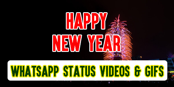 Happy New Year WhatsApp Status Videos & GIFs 2020
