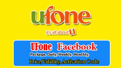 Ufone Whatsapp Packages,Free Trick Daily, Weekly And Monthly 2019