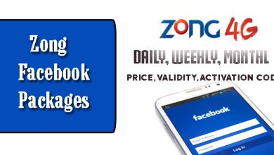 Zong Call Packages - Hourly, Daily, Weekly And Monthly With