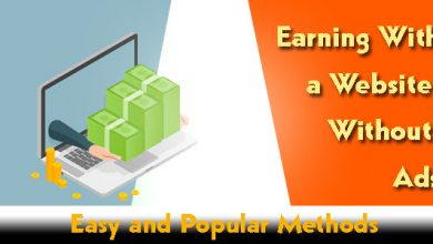 Earning With a Website Without Ads- Easy and Popular Methods