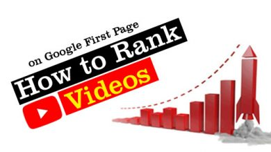 How to Rank Youtube Videos on Google First Page