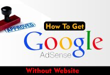 How to get google AdSense account without a website