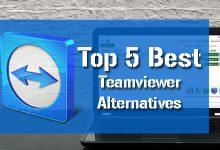 Top 5 Best Teamviewer Alternatives