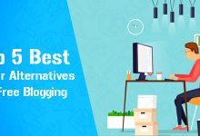 Top 5 Best Tumblr Alternatives for Free Blogging