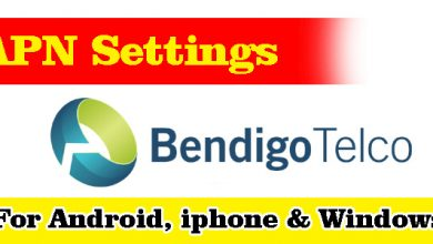 Bendigo Bank Telco APN Settings