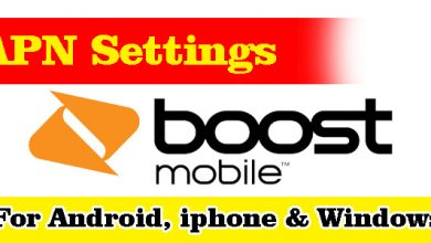 Belong Mobile APN Settings - For Android, iPhone, BlackBerry