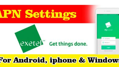 Exetel APN Settings - For Android, iPhone, BlackBerry, And Windows