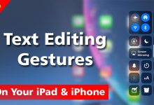 How To Use Text Editing Gestures On Your iPad & iPhone