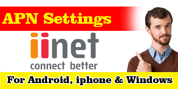 iiNet Mobile APN Settings