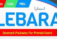 Lebara Denmark Packages For Prepaid Users – Calls, Minutes, and MBs