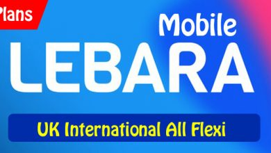 Lebara Mobile UK International All Flexi Plans