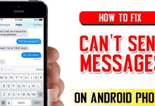 How To Fix Can't Send Messages on Android Phones